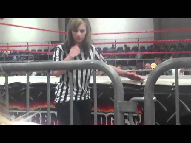 Extreme Midget Wrestling Federation.May 21,2011(10 bell tribute to Randy Savage).