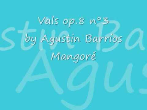 Christophe Pratiffi plays Vals op.8 n°3 by Agustin Barrios