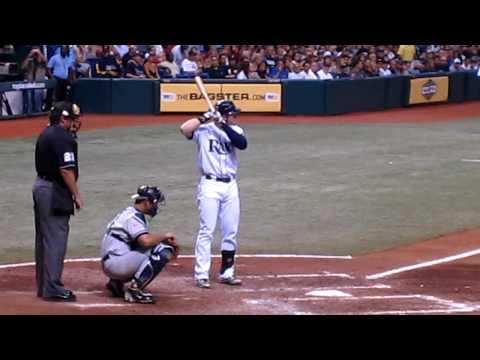 Evan Longoria Hits his 20th Home Run of the 2009 Season at Tropicana Field!!!! Video