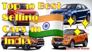 Top 10 Best Selling Car in India in 2019