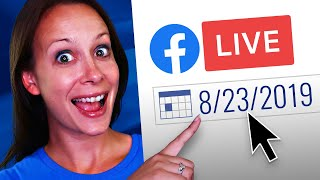 How to Schedule a Facebook Live