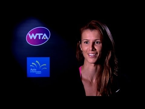 Tsvetana Pironkova on Winning 2014 Apia International Sydney