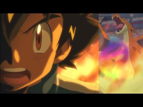 Ash Ketchum Mega Evolving Pokemon in the Kalos League