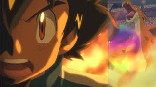 Ash Ketchum Mega Evolving Pokemon in the Kalos League?