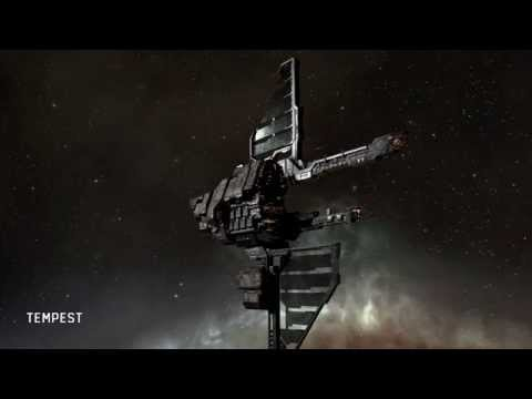 EVE Online: Physically-based Rendering (PBR) comparison video