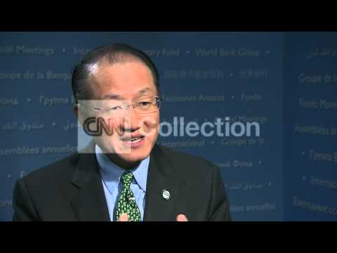 WORLD BANK PRESIDENT KIM ON EBOLA ECONOMY