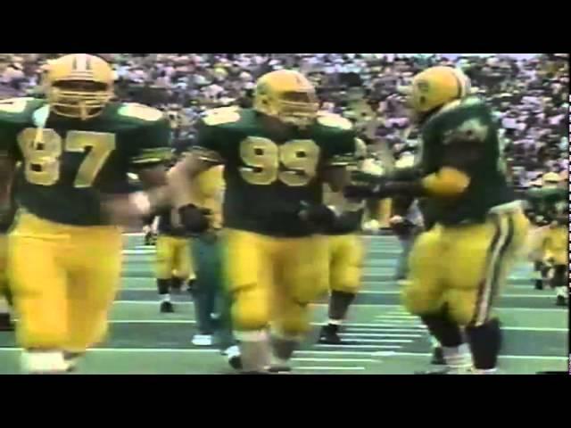 Oregon DE Romeo Bandison again sacks WSU QB Drew Bledsoe 9-07-1991