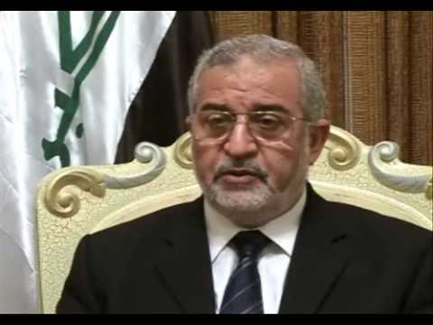 Iraqi parliament chief plays down recent violence
