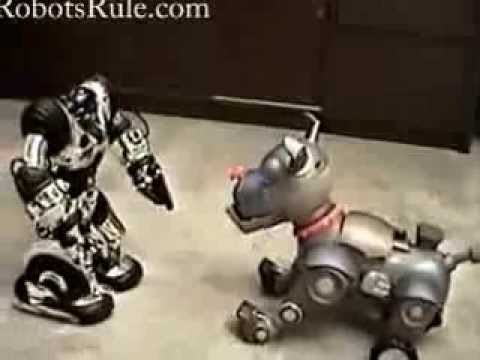 Wowwee Wrex The Dawg Robot Dog video