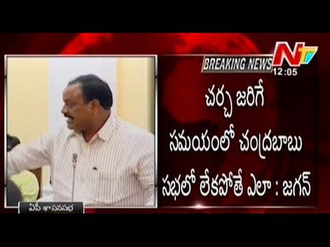 Acche Naidu Serious Comments On Ys Jagan In Ap Assembly video