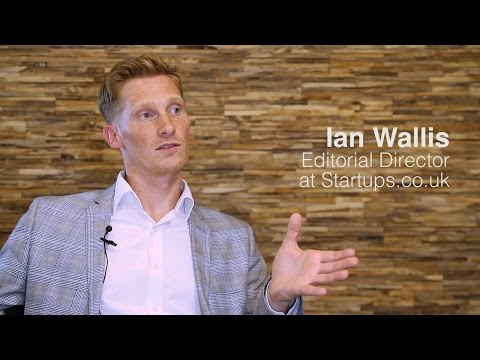 Iann Wallis, Startups.co.uk - Europe's Corporate Startup Stars