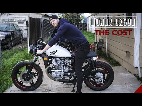 How Much Did the Build Cost?   CX500 Cafe Racer Build Project