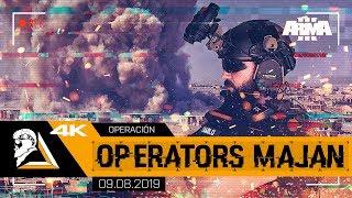 OPERACIÓN OPERATORS MAJAN - ARMA3 SAD CIA - SQUAD ALPHA - DIABLO HELMETCAM