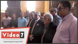 بالفيديو..قيادات الوفد يزورون ضريح سعد زغلول فى ذكرى رحيله