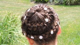 Trenza CORONA #1  - Trenza Doble Corona - Double Crown Braid