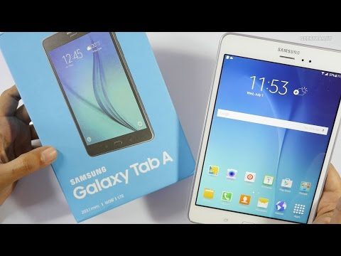 """Samsung Galaxy Tab A - 8"""" 4G Tablet Unboxing & Overview"""
