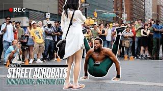 Street Acrobats - Union Square, NYC