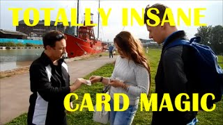 Street Magic / Wedding Magicians Magic /Angle Z Card Trick | Andy Field Magic