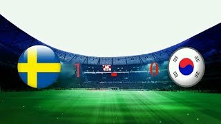 Sweden v Korea 1-0 Republic - 2018 FIFA World Cup Russia™ - Match 12