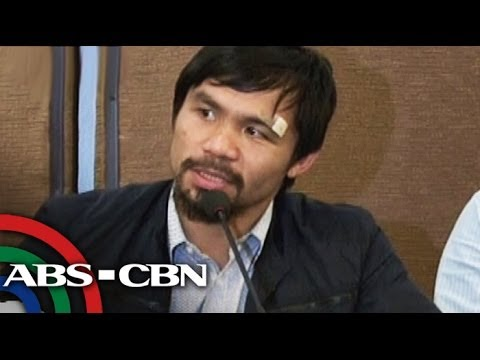 Manny Pacquiao back in PH