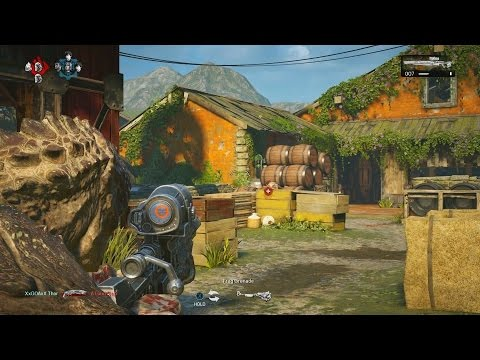 Gears of War 4 - MY FIRST ONLINE MATCH! TDM Multiplayer Gameplay on Reclaimed! (1080p 60fps)