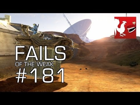Funny Halo Bloopers and Screw Ups! - Fails of the Weak - Volume 181 klip izle