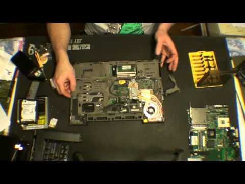 IBM T61 Motherboard Replacement Part 1