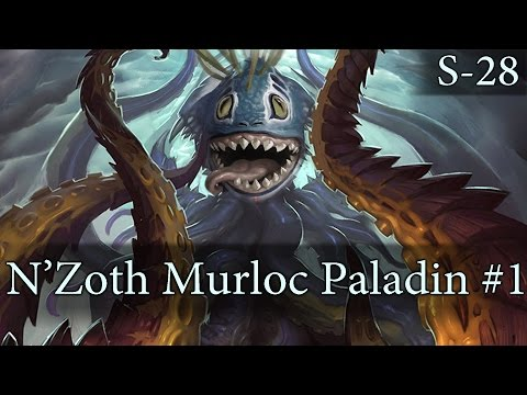 Hearthstone Murloc N'Zoth Paladin S28 #1: Winning as Control in a Different Way