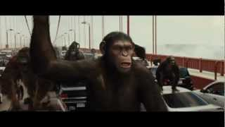 Rise of the Planet of the Apes - Rise of Planet of the Apes vs 300 Movie Trailer