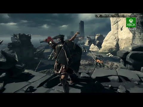 Ryse GAMEPLAY! First Xbox One Footage from Microsoft's E3 Press Conference