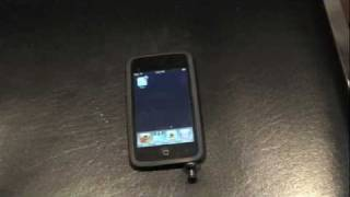 Skype Demo on iPod Touch 2G with SwitchEasy Thumbtack mic