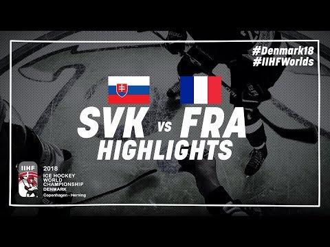 Game Highlights: Slovakia vs France May 10 2018 | #IIHFWorlds 2018