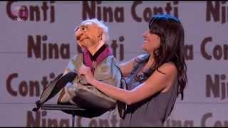 Nina Conti on Russell Howard's Good News