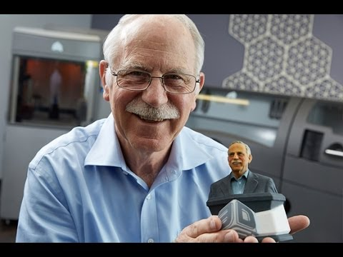 Charles w hull 3d printing stereolithography youtube for Who invented the 3d printer