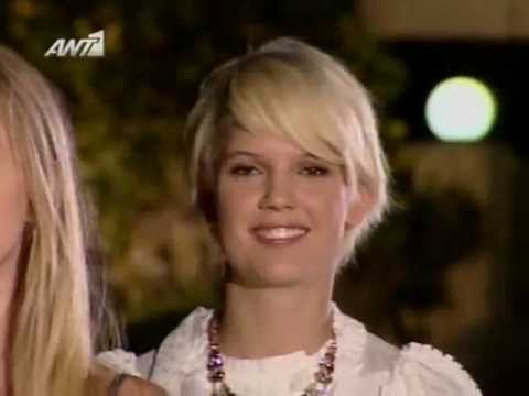 Greece's Next Top Model S1 / E1 [ 2 of 2 ] ANT1 GR ( 12/10/2009 )
