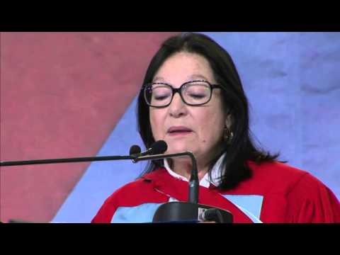 Nana Mouskouri, DLitt - McGill 2013 Honorary Doctorate Address
