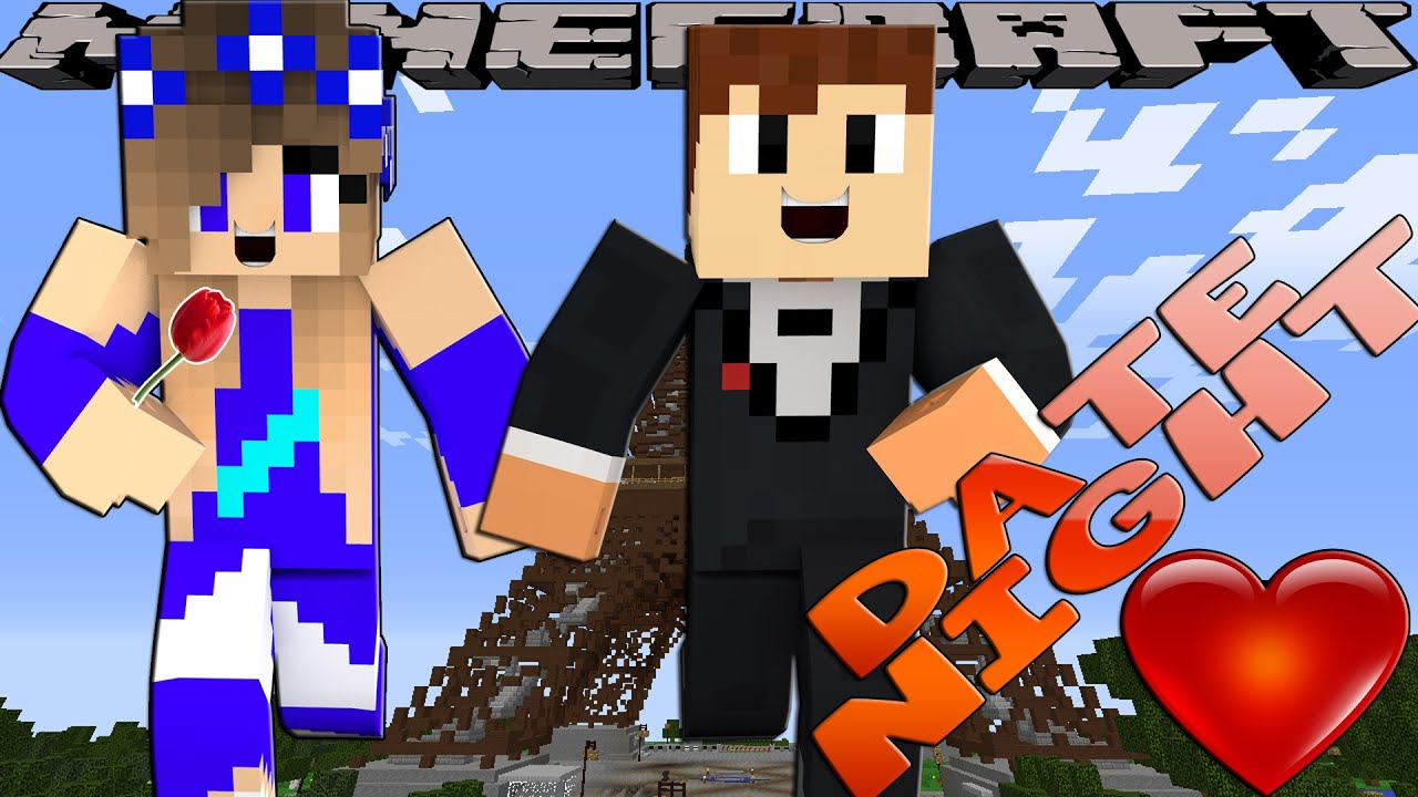 Minecraft Date Night-Little Carly Adventures-FIRST DATE WITH SCUBA STEVE!!