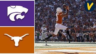 #16 Kansas State  vs Texas Highlights | Week 11 | College Football 2019