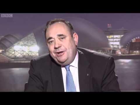 Alex Salmond makes light work of Paxo - Newsnight UK 19/04/11