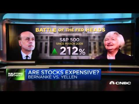 Bernanke Vs Yellen Are Stocks Expensive - Bernanke Vs Yellen. Yellen - 3 Jun 15  | Gazunda