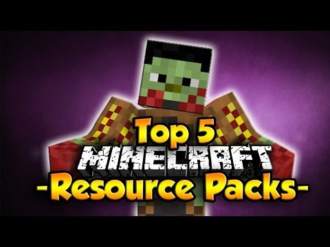 Minecraft 1.8 - Top 5 Resource Packs [Texture Packs]