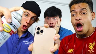CUSTOM IPHONE 11!!📱📞(Giveaway) ft. MARKO