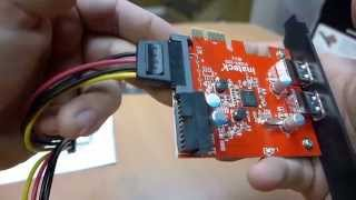 Inateck PCI-E to USB3.0 Two-Port Expansion Card Review & Installation