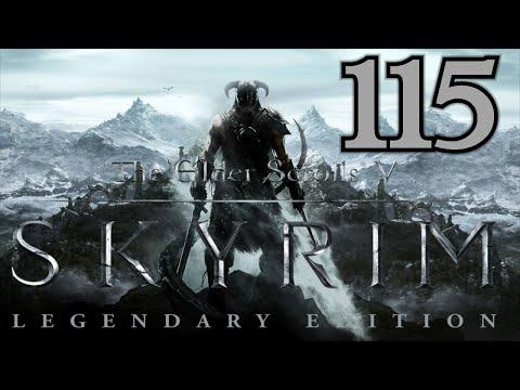 Let's Play Skyrim - Legendary Edition [German][Blind][#115] Rückkehr nach Festung Unterstein!