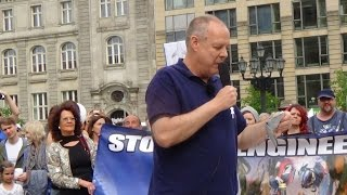 Christoph Hörstel, Global March Against Geoengineering(+ Chemtrails), Berlin, 25.04.2015, Part 2