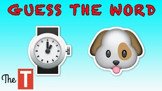 Can You Guess The Word By The Emojis?