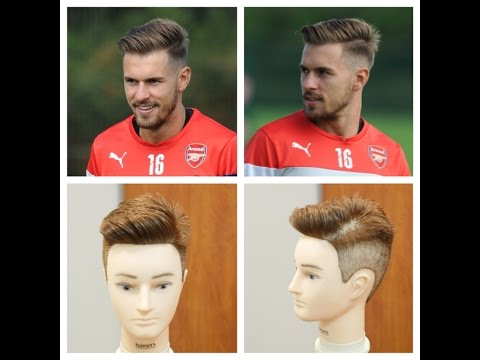 Aaron Ramsey 2014 Haircut Tutorial