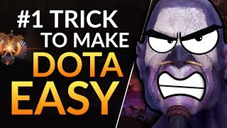 #1 TRICK TO MAKE DOTA EASY - Support Tips to WIN MORE and RANK UP | Dota 2 Guide