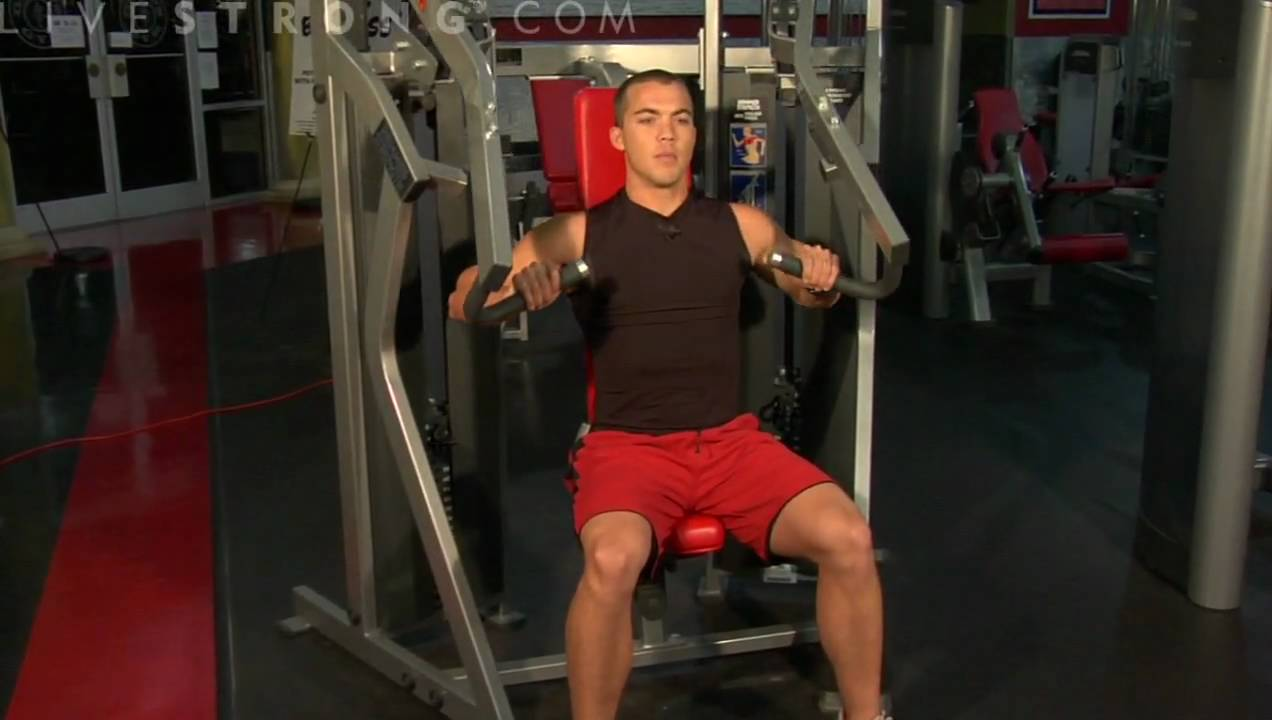 How To Do Iso Lateral Incline Press Exercise Youtube