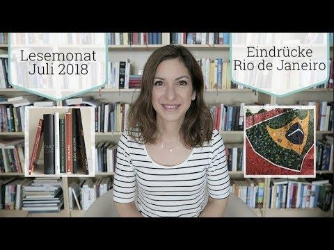 Lesemonat Juli und Rio   2018